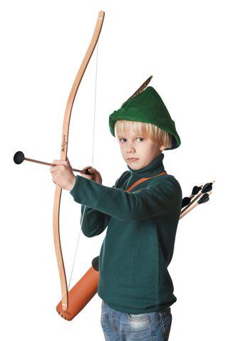 Set: Bow and Arrow