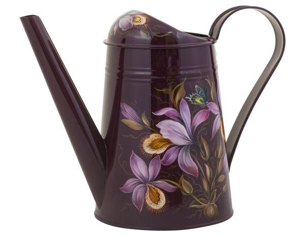 Zhostovo / Steel watering can, author Borisova O.