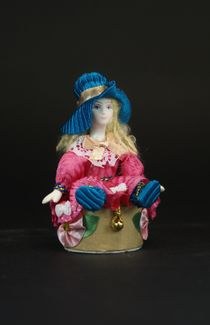 Souvenir doll-casket 'Girl in the Hat'