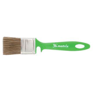 Brush flat 35 mm, mixed bristles, plastic handle, wood work, MATRIX