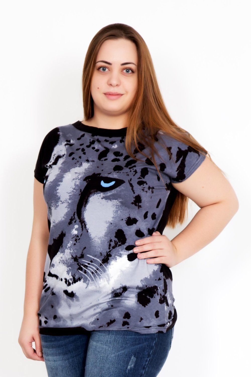 Lika Dress / Blouse Leopard Art. 2347