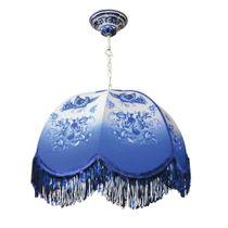 Lamp decorative suspended Blue bird