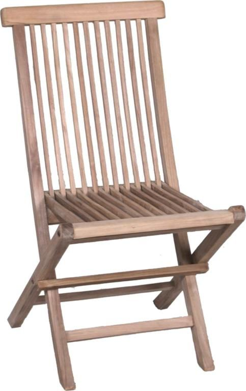 Teak chair for garden and terrace