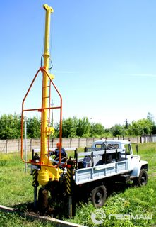 Crane drilling machine BKM
