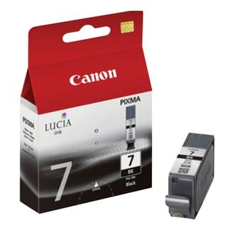 Inkjet cartridge CANON (PGI-7BK) iX7000 / MX7600, black, original, 570 pages.