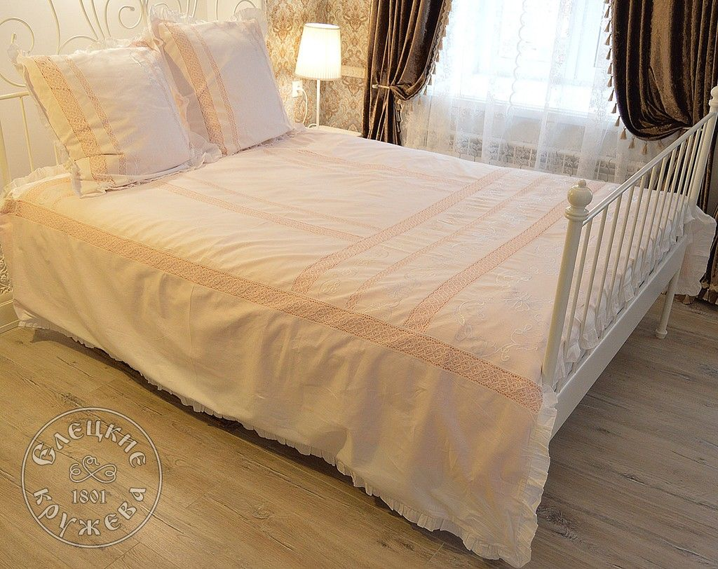Yelets lace / Bed linen Euro C2183