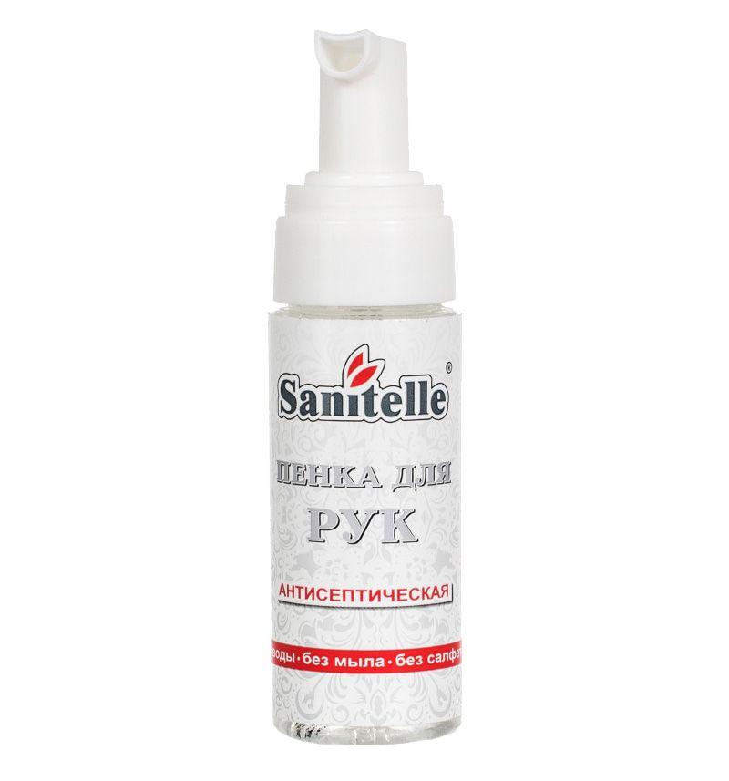 Sanitelle / Antiseptic foam in show box with vitamin E 42 ml