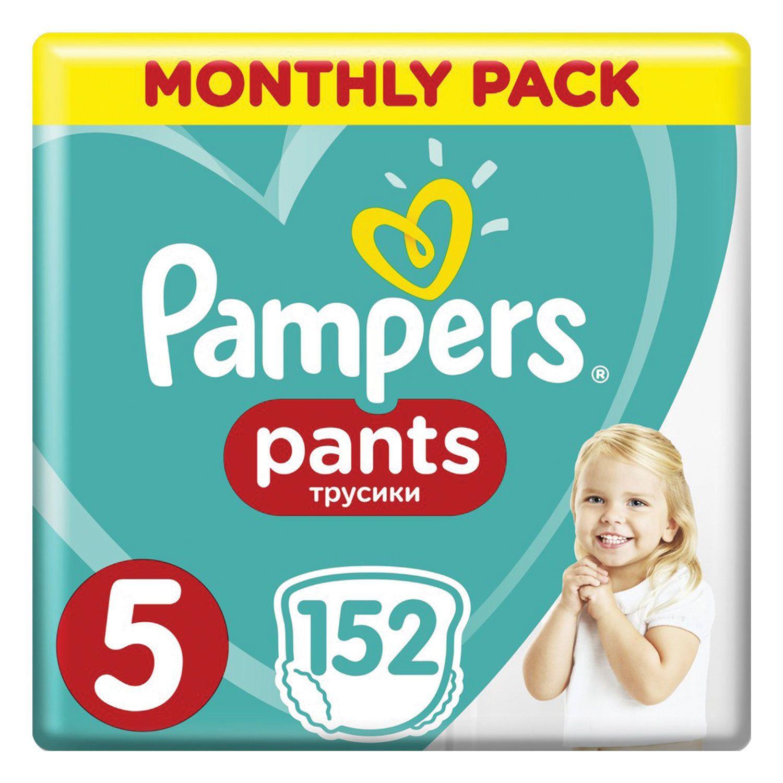 PAMPERS / Pants-diapers Pants, size 5 (12-17 kg), 152 pcs.