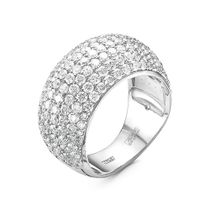 RING, WHITE GOLD, DIAMOND