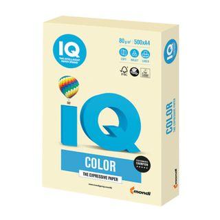 IQ COLOR / A4 paper, 80 g / m2, 500 sheets, pastel, vanilla