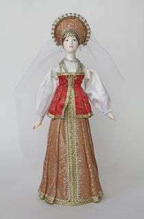 Doll gift. Maiden costume. Tver. The middle of the 17th century.