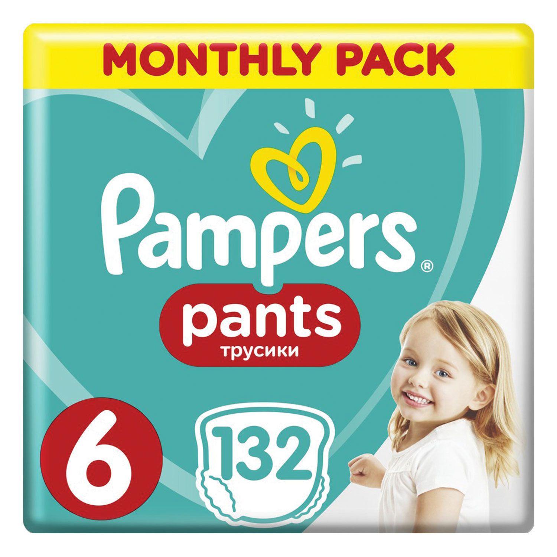 PAMPERS / Pants-diapers Pants, size 6 (15+ kg), 132 pcs.