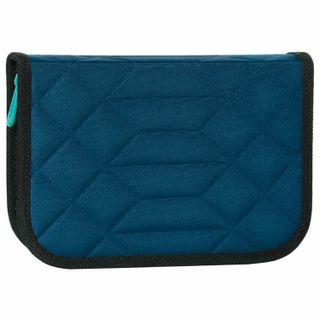 FAMILY TIGER pencil case 1 compartment, 2 folding plates, cloth,