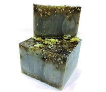 Handmade bar soap with herbs Immortelle
