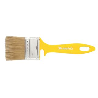 Brush flat 50 mm, artificial bristles, plastic handle, for varnishes, MATRIX