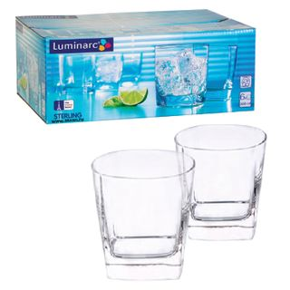 LUMINARC / Sterling Juice and Whiskey Glasses, Low, Glass, 300 ml, 6 pcs.
