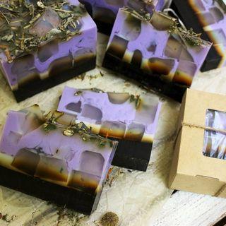Handmade bar soap with Matcha Tea 1000 g milotto004435