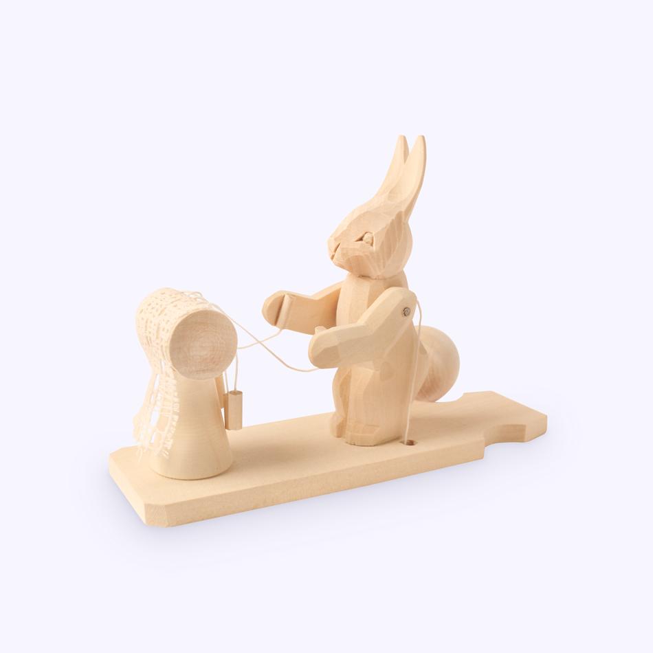 """Bogorodsk toy / Wooden souvenir """"Bobbin"""""""