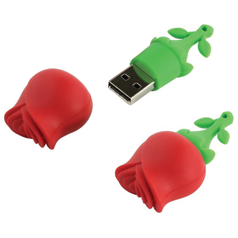 "SMARTBUY / Souvenir flash drive 16 GB, Wild ""Rose"", USB 2.0"