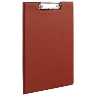 Folder tablet BRAUBERG, A4 (340х240 mm), with holder and lid, cardboard/PVC, RUSSIA, Burgundy