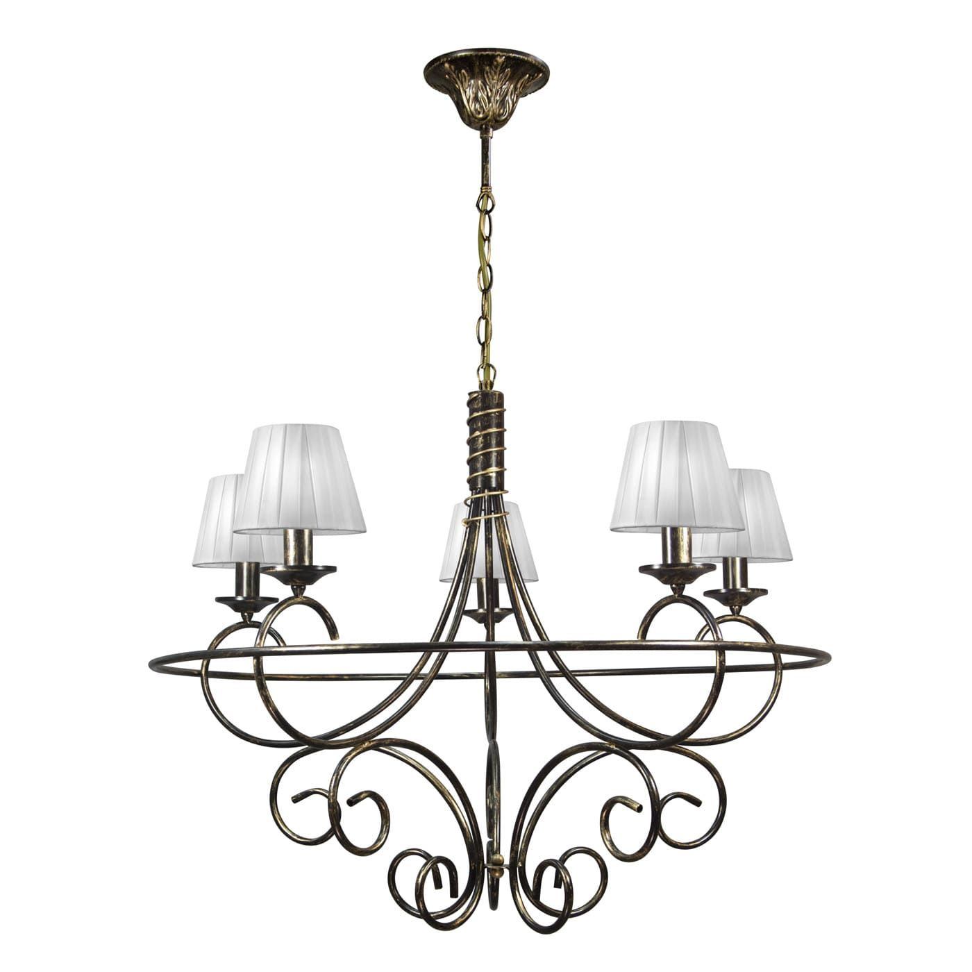 PETRASVET / Pendant chandelier S3128-5, 5xE14 max. 60W