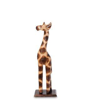 Figurine, wooden Giraffe 30cm
