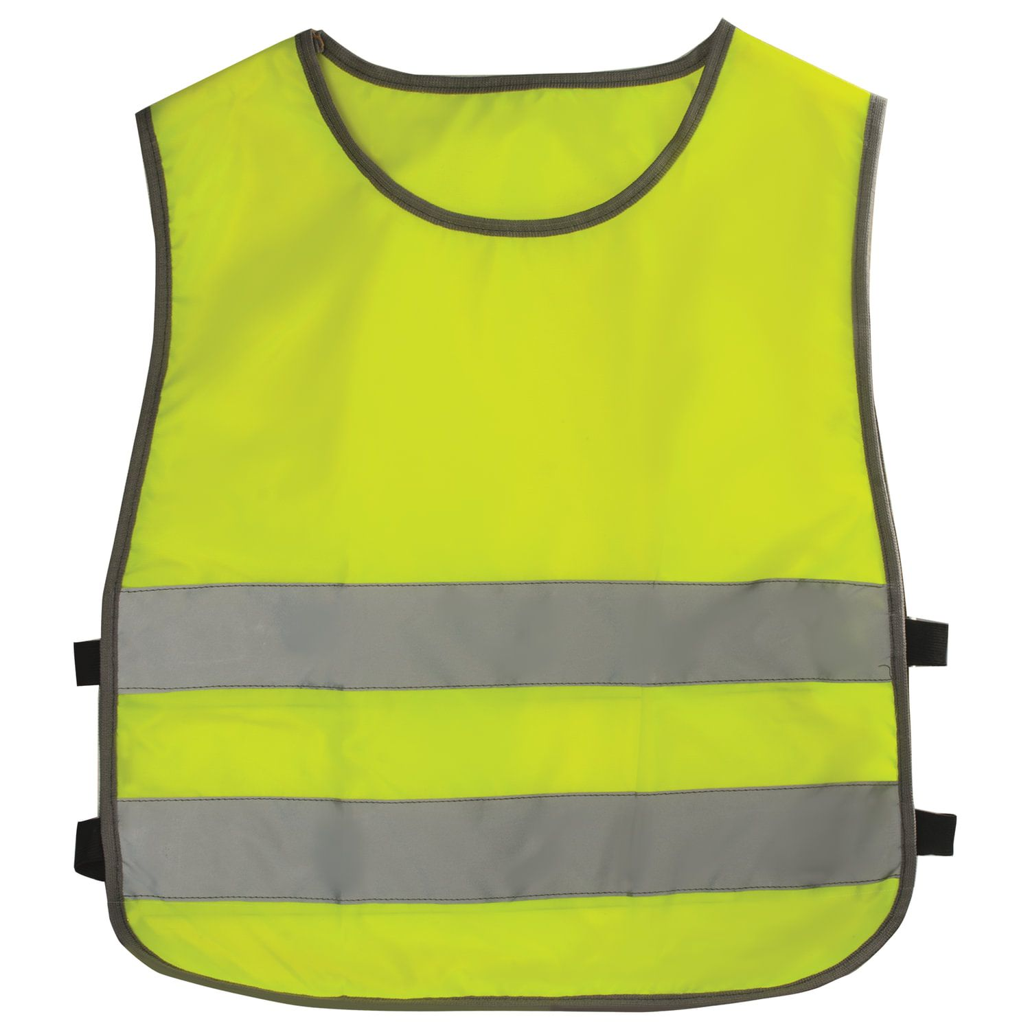 Children's vest REFLECTIVE, size 26-30, height 92-116 cm, 2-6 years old, bright green (lemon)