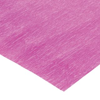 ISLAND OF TREASURES / Crepe paper for creativity and floristry, 110 g / m2, PINK, 50x250 cm