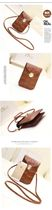 Bag-wallet made of crocodile leather