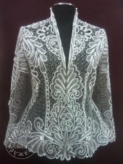 Womens lace blouse white