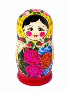 Matryoshka traditional 10 doll