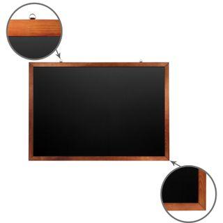 The chalk Board magnetic (100x150 cm), black painted hardwood frame, Russia, BRAUBERG