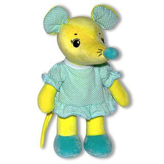 """Anti-stress toy """"Mouse Arishka"""" 3(Yellow)"""