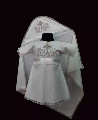 Yelets lace / Christening set for girls