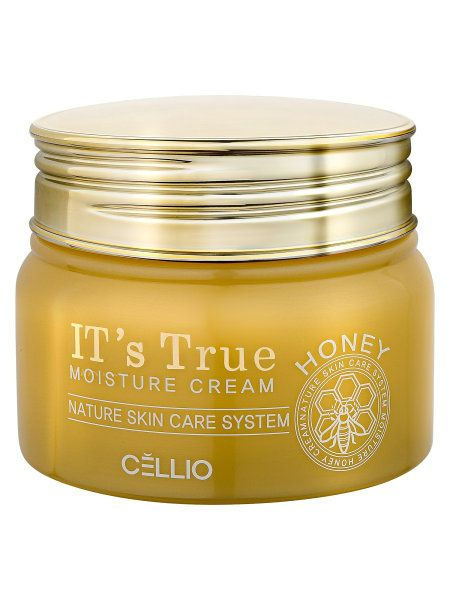 Moisturizing cream with extract of honey , IT'S TRUE , 50ml