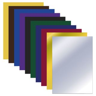 Colored paper A4 newspaper MAGIC, 10 sheets, 10 colours, on a bracket, PYTHAGORAS, 200х280 mm,