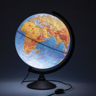 Globe physical/political Globen classic, diameter 320 mm, with backlight