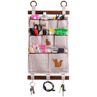 Universal scroll / Handmade wall organizers in assortment