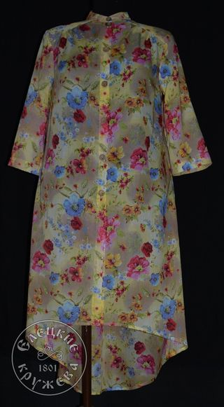 Dress shirt womens linen С11776