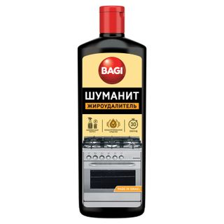 Means for cleaning stoves, ovens, grills from fat / carbon deposits BAGI SHUMANIT liquid concentrate 270 g