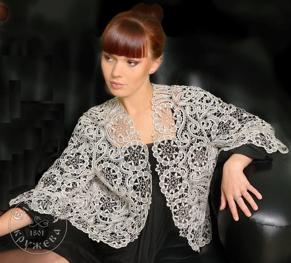 Yelets lace / Women's lace blouse С1882