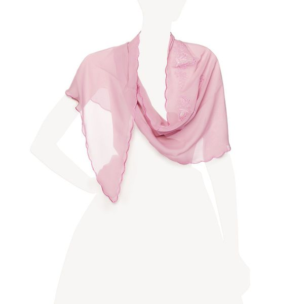 Klondike 'Stranger' pink color with silk embroidery