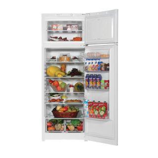 INDESIT RTM016 fridge, total 296 litres, top freezer 51 litres, 60 x66.5 x 167cm, white