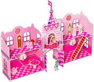 3D puzzle with stickers: Princess Castle Sophie