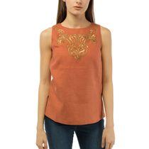 Women's blouse 'city' brown