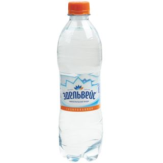 EDELWEISS / Sparkling mineral water 0.5 l, plastic bottle