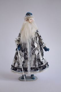 Santa Claus. Fairy tale character. Doll gift
