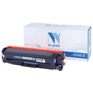 Toner Cartridge NV PRINT (NV-CF411X) for HP M377dw / M452nw / M477fdn / M477fdw, cyan, yield 5000 pages