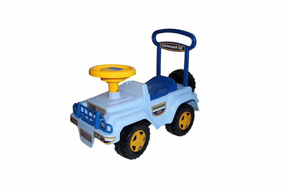 "Sovtekhstrom / Toy Car-wheelchair ""Police"" (musical steering wheel)"