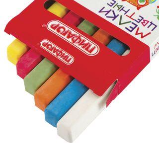 Chalk, colored PYTHAGORAS, set of 6 PCs, square